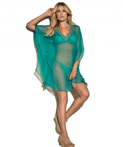 Flattering tunic from Miss Tunica - Paloma Caribbean Aqua