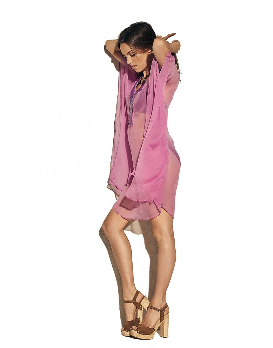 Flattering tunic from Miss Tunica - Paloma Lilac