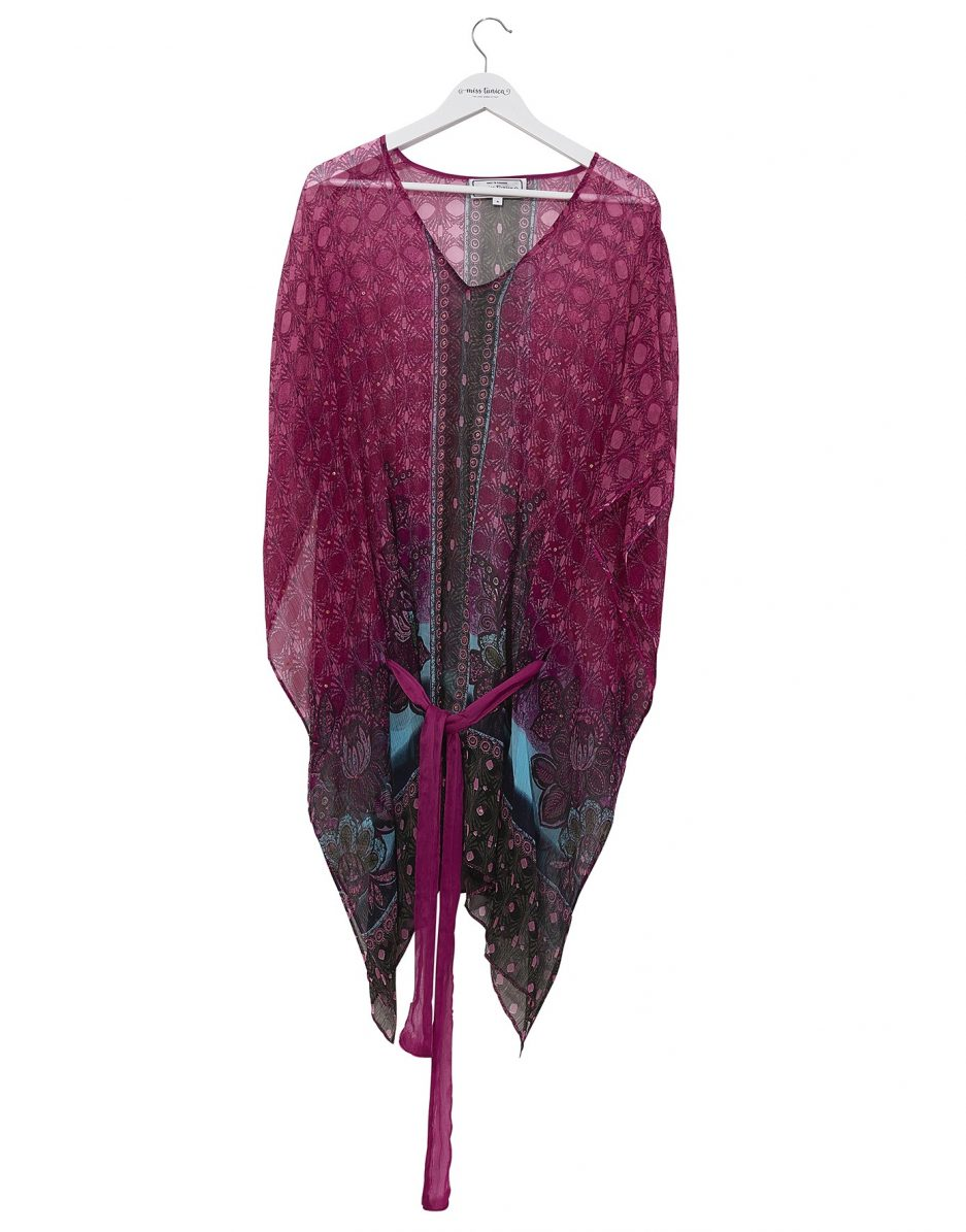 Beach kaftan from Miss Tunica - Chia Dark Candy