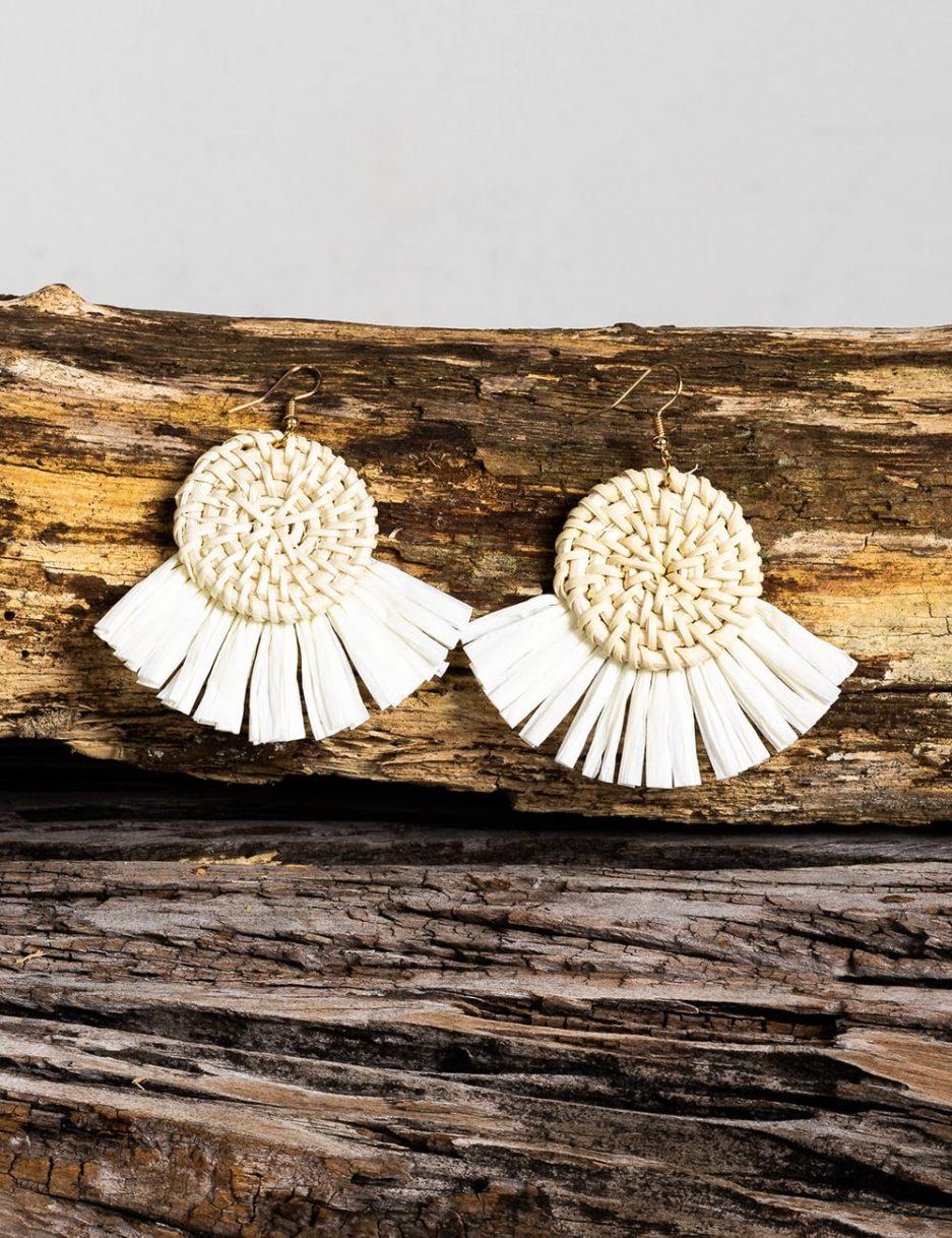 Briar earrings neutral