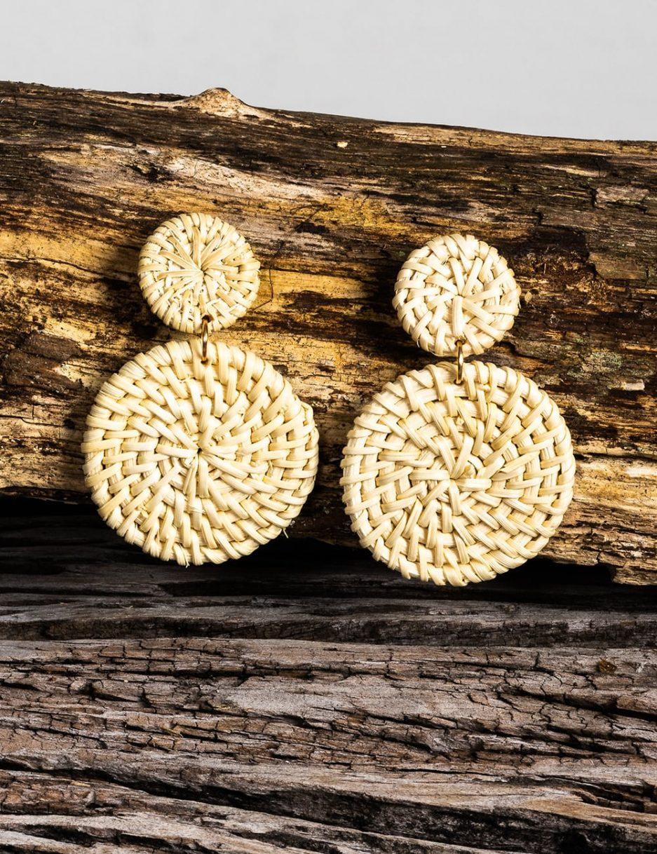 Elowen earrings neutral