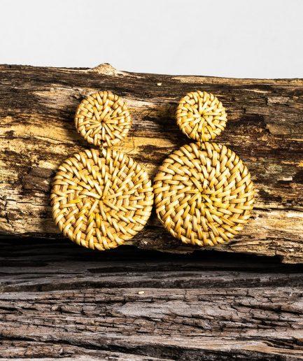 Elowen earrings sand