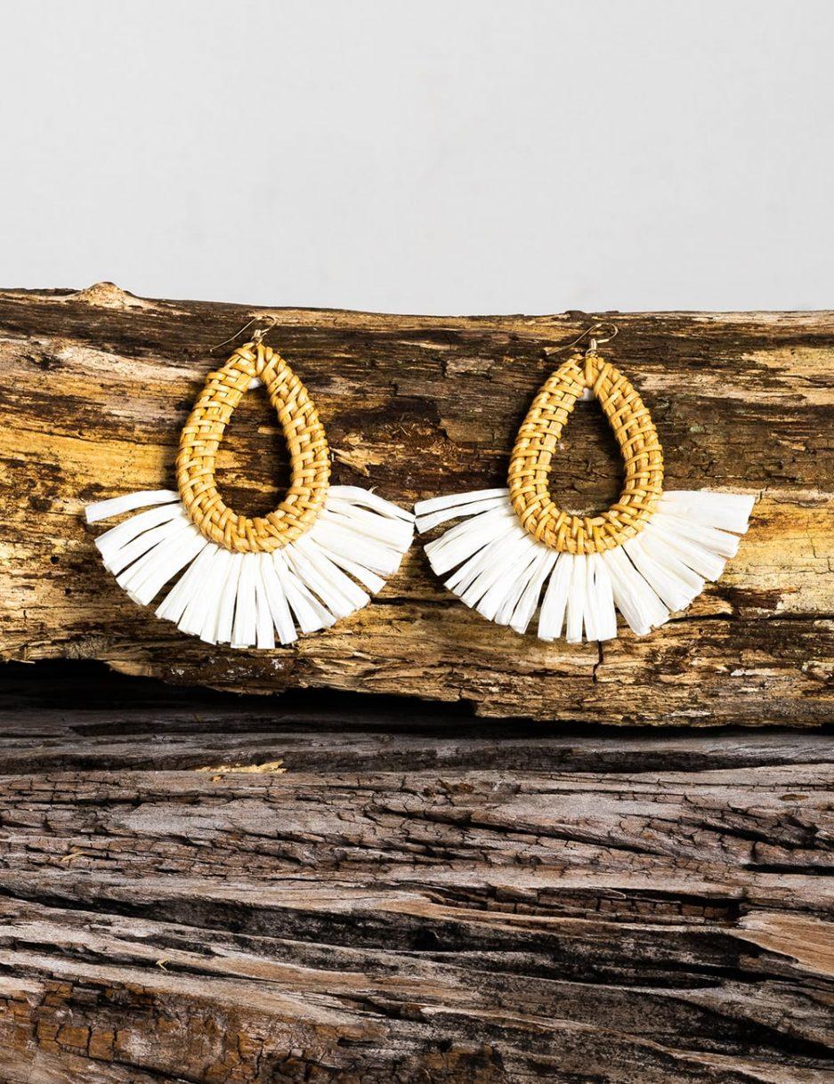 Minerva earrings round shape